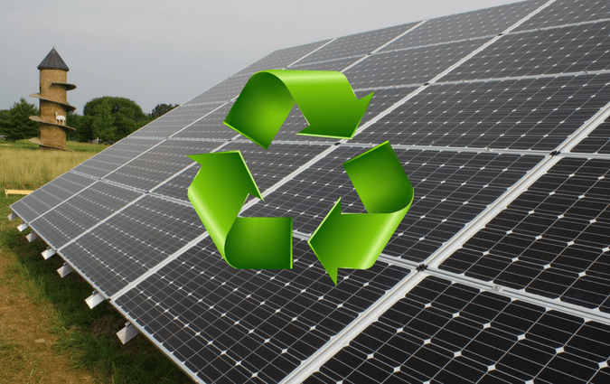 Recycled Solar Panel Roof Panels